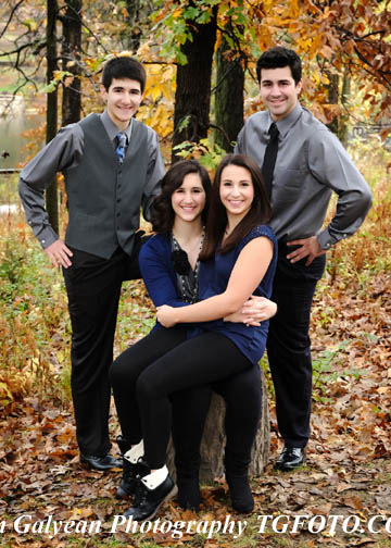 11x14 Fall family portrait special at Tim Galyean Photography