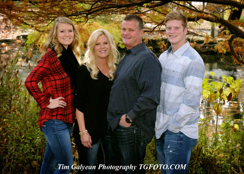 Keep them together forever in a professional family portrait this Fall. Special prices at Tim Galyean Photography