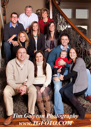 Location family portraits at your home or favorite location